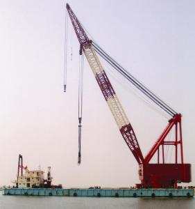 Full revolving FLoating crane 1000ton