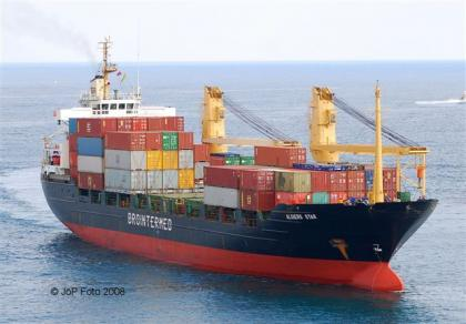 SHIP FOR SALE GEARED SINGLEDECK MPP - CONTAINER VESSEL 10945 DWT BUILT: JAN 1980