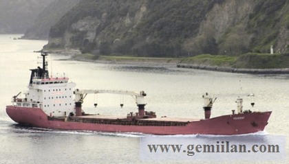 GENEL KARGO GEMİSİ SATILIK DWT 9215 BLT 2001 GENERAL CARGO / SINGLE DECKER / GEARED
