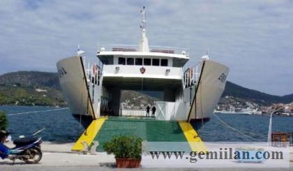 2010 yapım arac / yolcu taşıma gemisi
