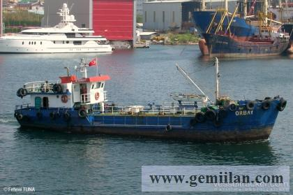 220 ton tatlı su gemisi aktif çalışıyor